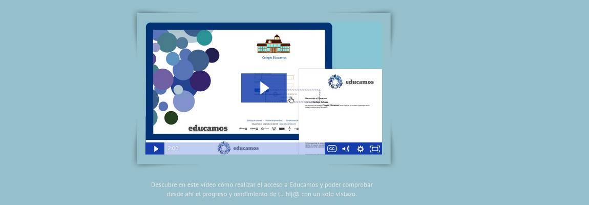 Acceso a la plataforma Educamos