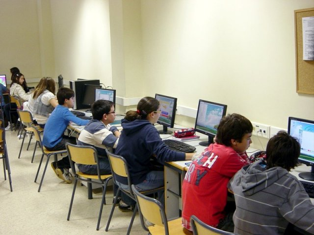 Tres Aulas de Informática